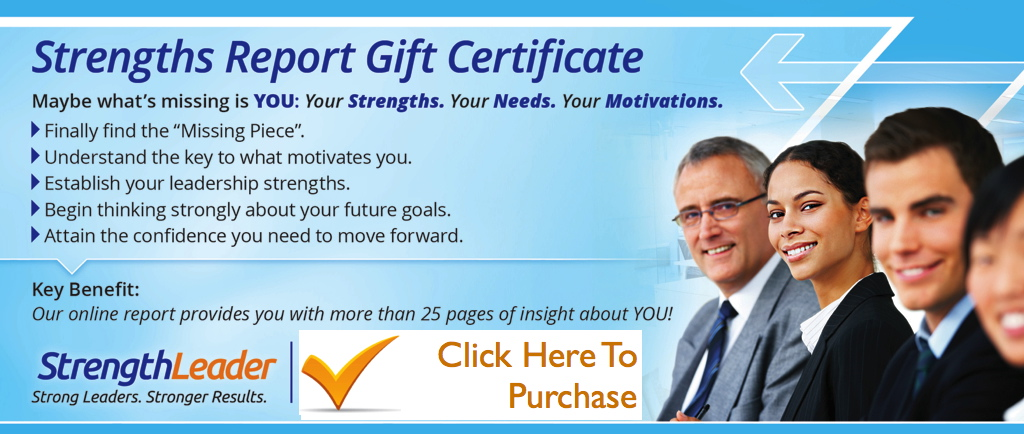Strength report purchase gift cert.001