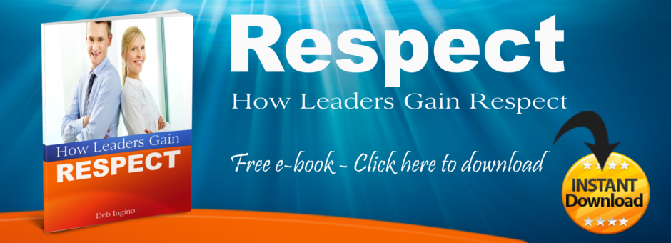 How Leaders Gain Respect