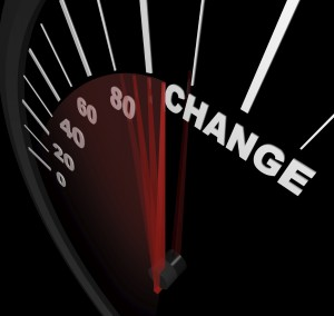 Racing Toward Change - Speedometer