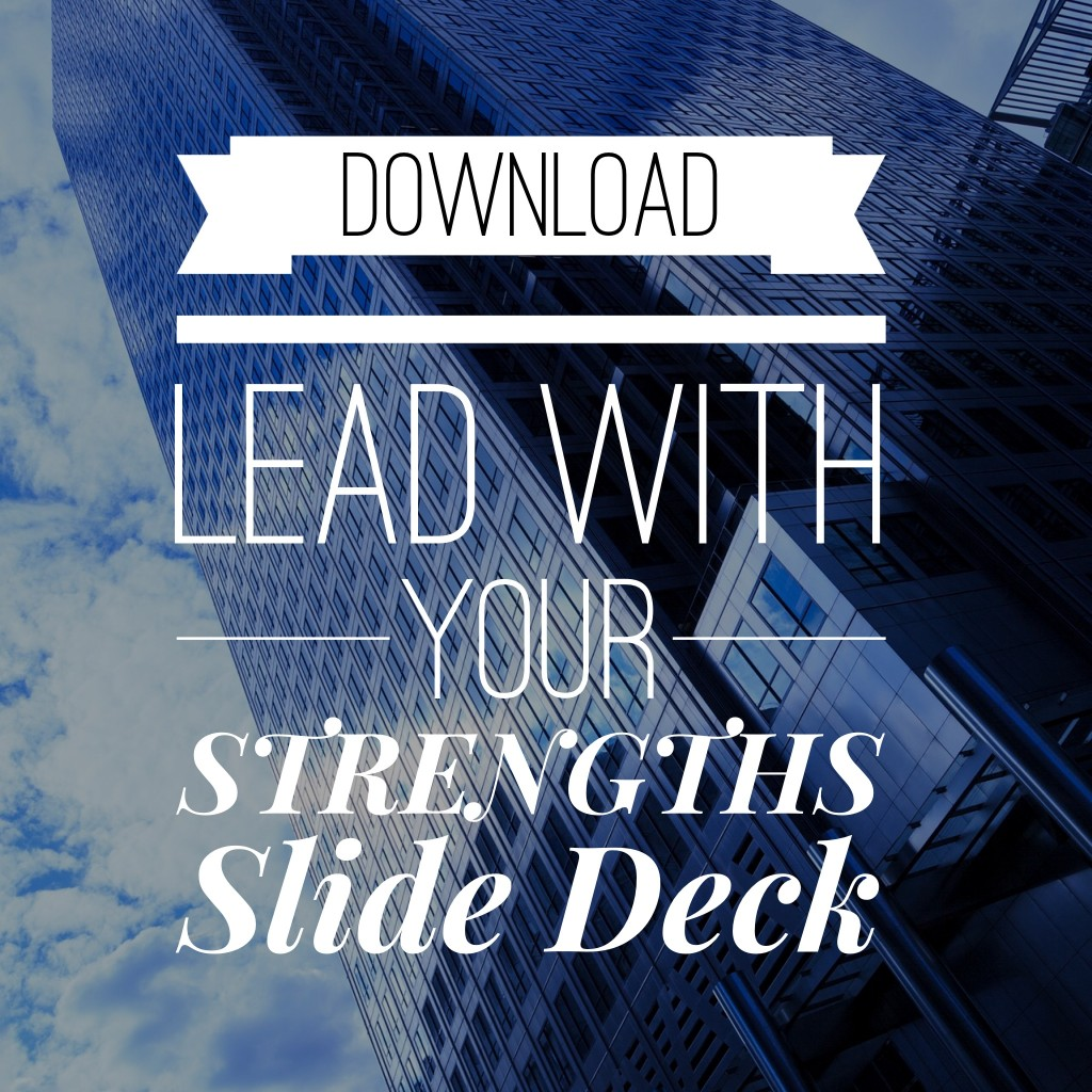 download Lead with your strengths sides