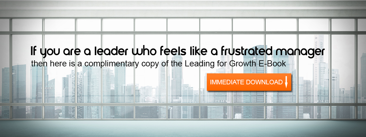 Leading for Growth Banner