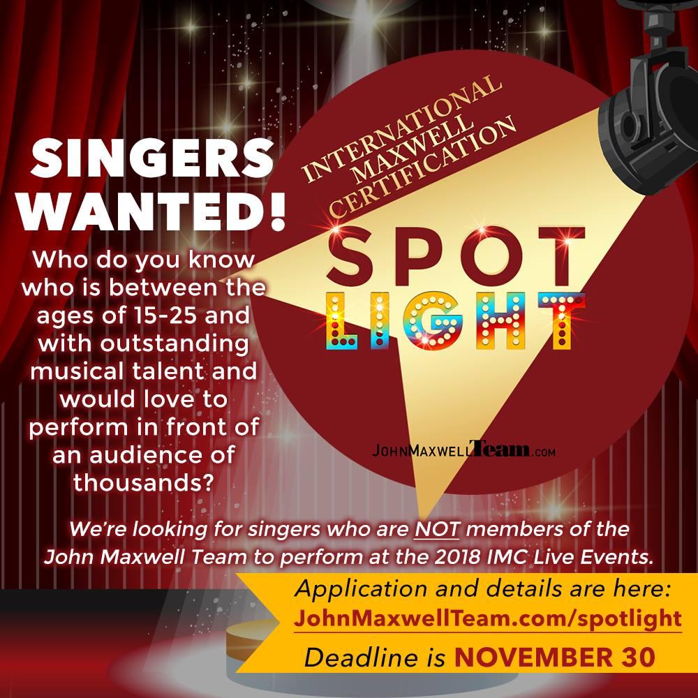 JMT Singer Spotlight