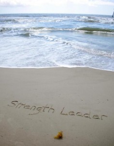 StrengthLeaderAtBeach