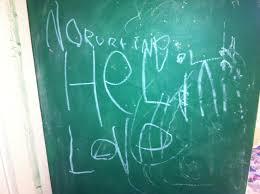 Jesse Lewis Chalkboard