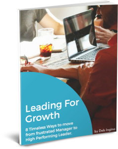 Leading For Growth Ebook Cover